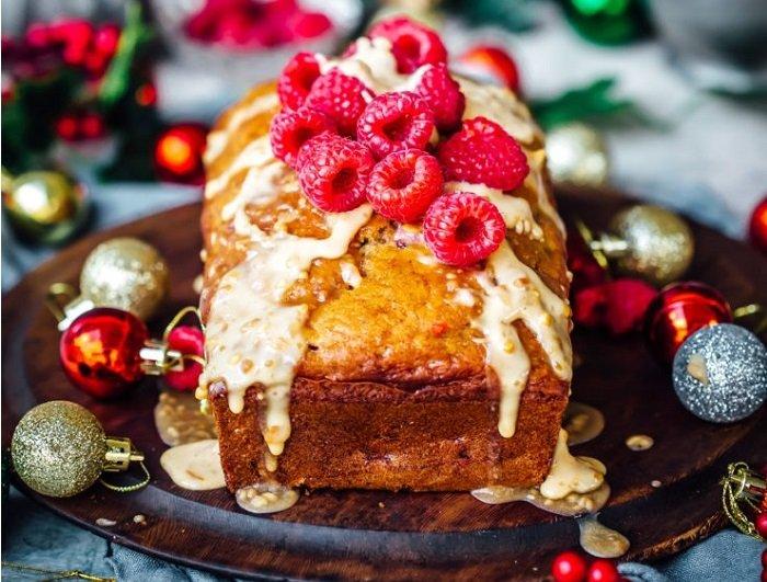 Рецепта за кекс с банани и малини
