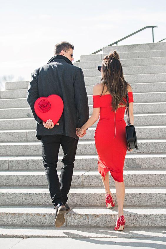 stailing idei za sveti valentin