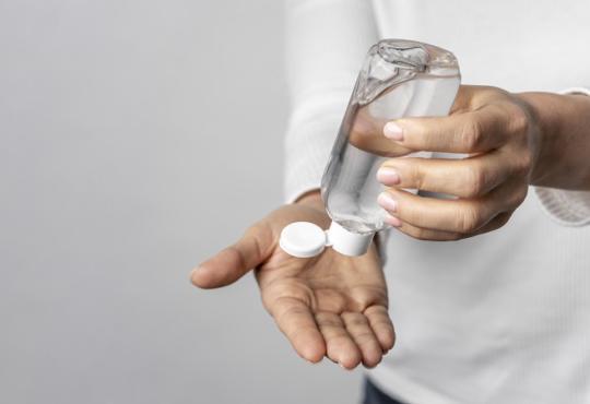 антибактериален гел за ръце